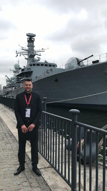 Picture of Sam Longley, Delivery Consultant at Capital International Staffing at the DSEI